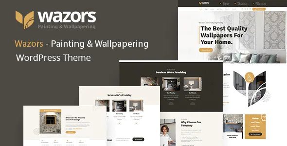 Best Painting & Wallpapering WordPress Theme