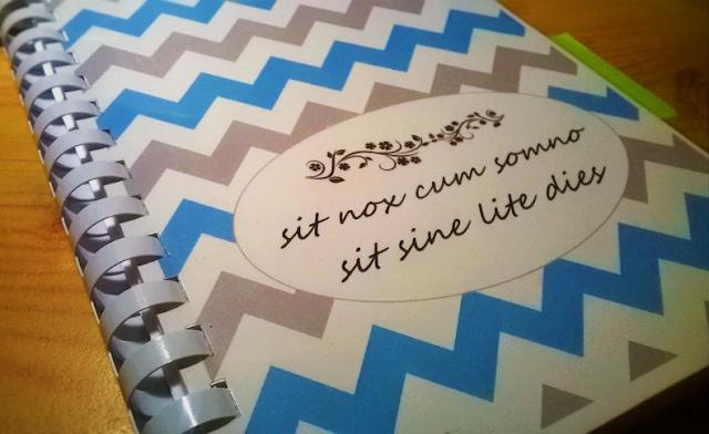 Nowy rok się zbliża... planner-organizer-kalendarz DIY