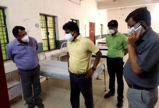 डीएम ने शाहगंज में एल-1 अस्पताल का किया निरीक्षण | #NayaSaberaNetwork