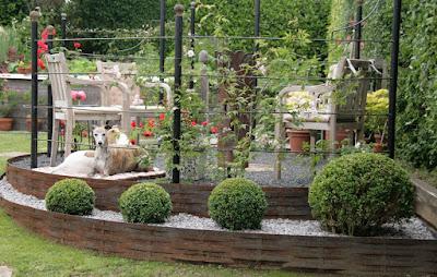 rundes Gartenzimmer