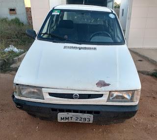 Polícia de Cubati recupera veículo furtado em Sossego