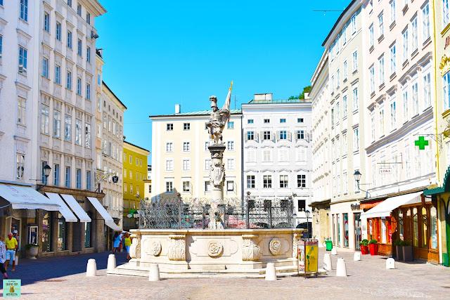 Alter Markt en Salzburg, Austria