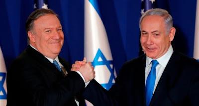 Pompeo: ameaça iraniana dá a Israel 'direito fundamental' de bombardear quem quiser
