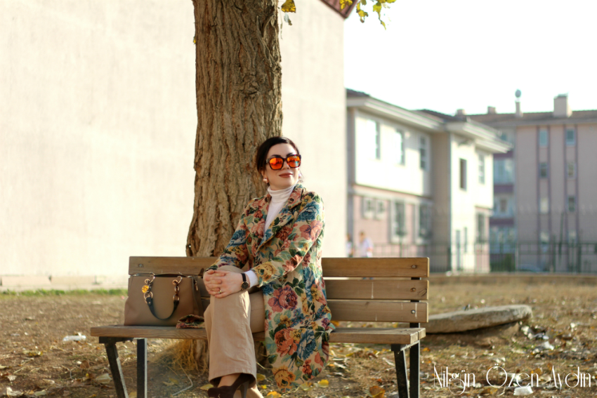 Vintage Trençkot-moda blogu-fashion blogger