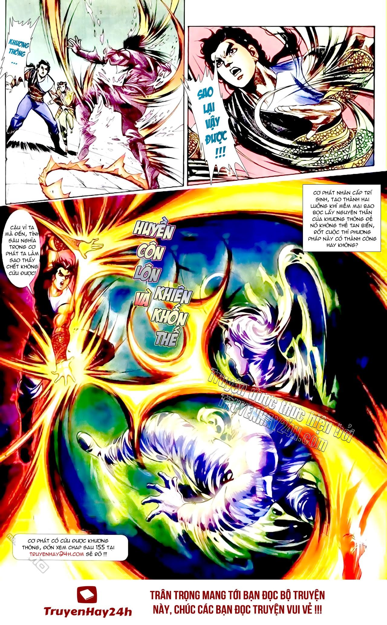 Cơ Phát Khai Chu Bản chapter 154 trang 32