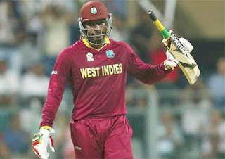Gayle after hitting first century of World Cup 2016