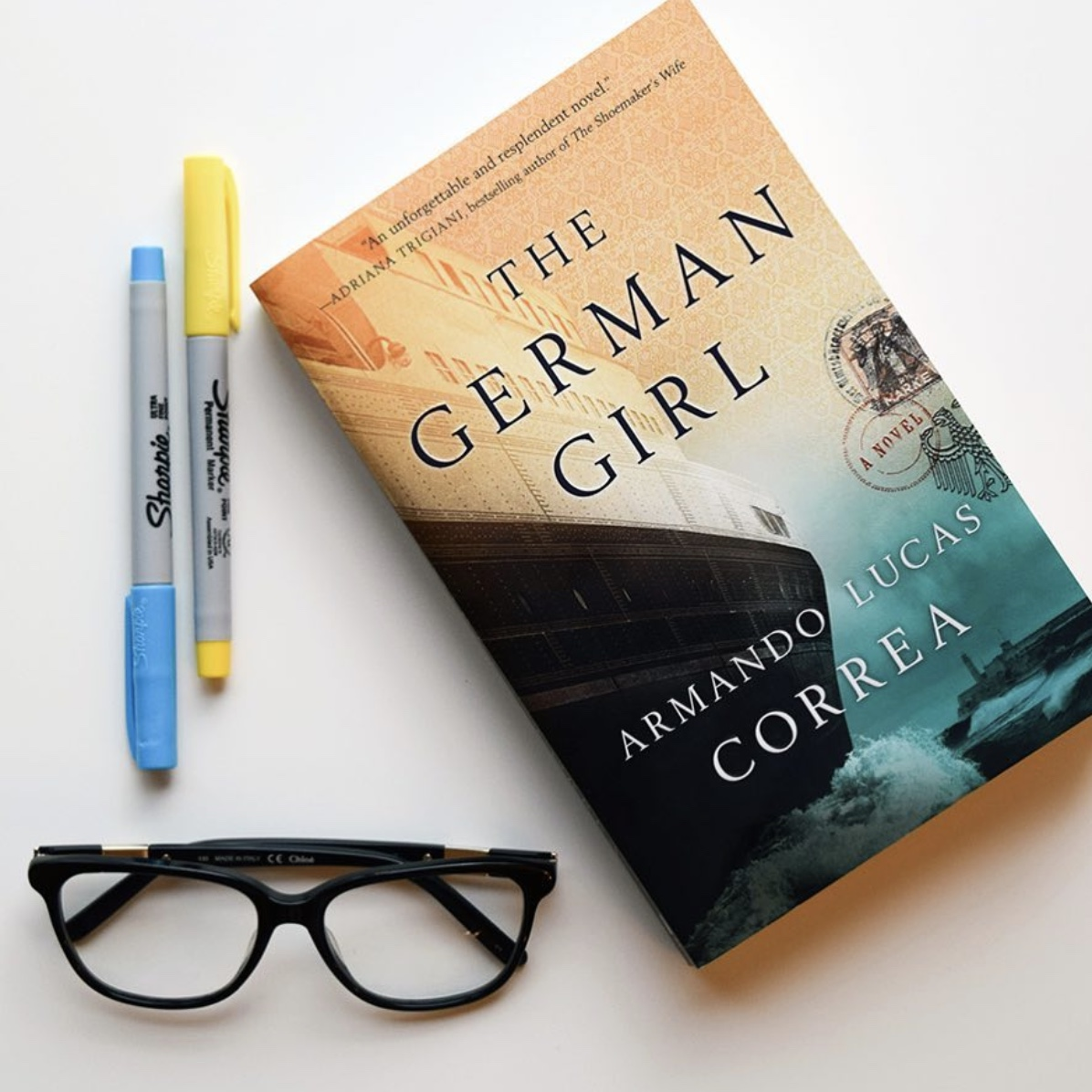 Book Review: The German Girl by Armando Lucas Correa   kathleenhelen