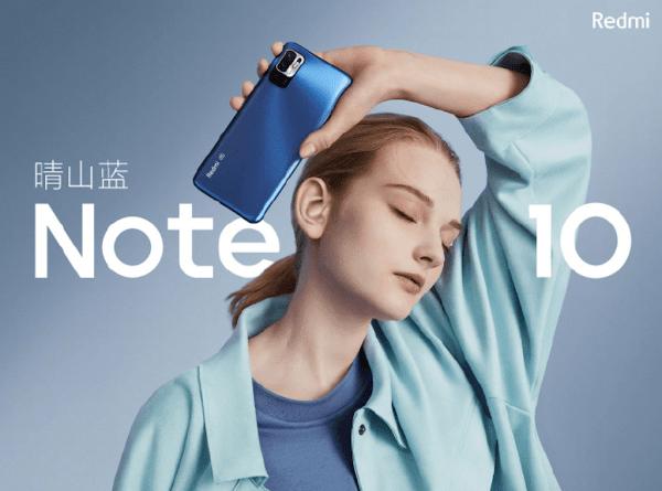 Redmi Note 10 5G chinês lançado com Dimensity 700