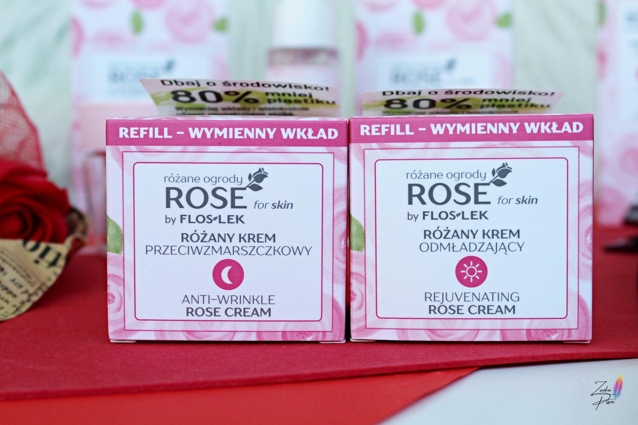 FLOSLEK ROSE for Skin różane ogrody – wegańskie kosmetyki z opakowaniem refill