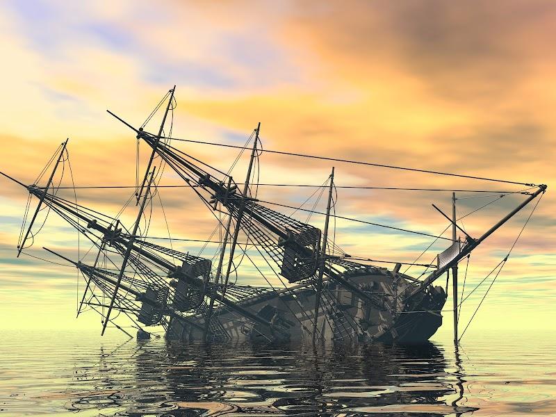 5. Корабль-призрак с золотом и бриллиантами