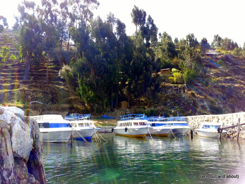 {ErinOutandAbout} Resting on Isla del Sol