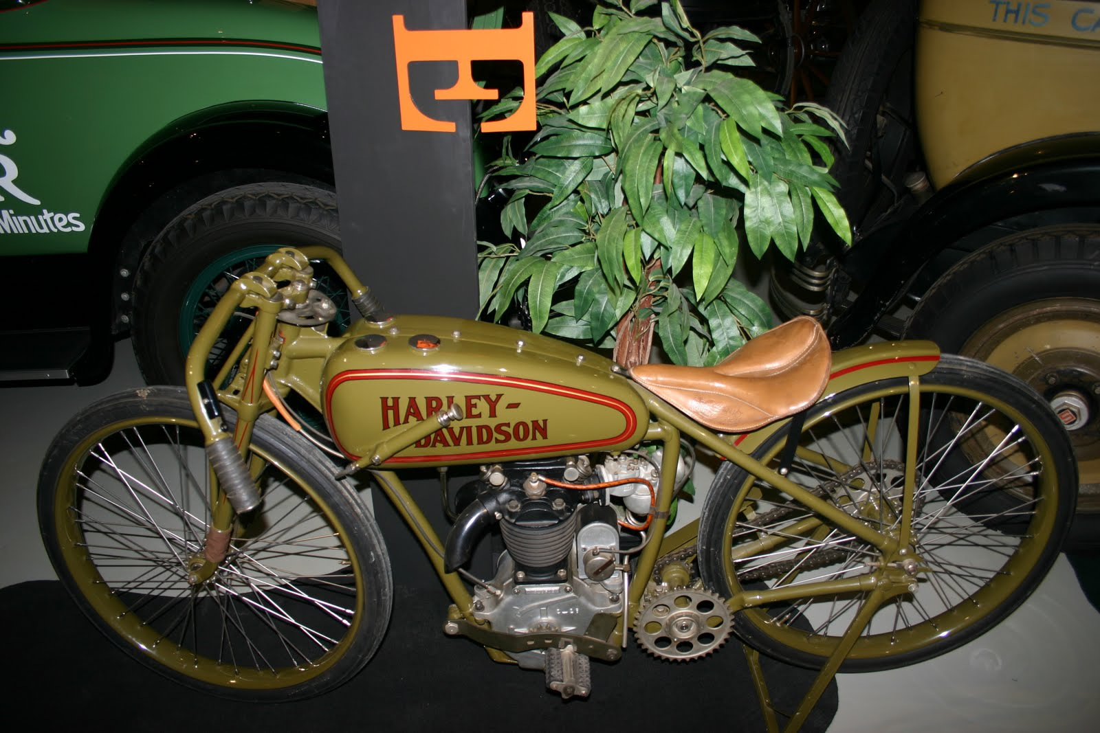 "1926 Harley Davidson Peashooter: OldMotoDude: 1926 Harley-Davidson S ""Peashooter"