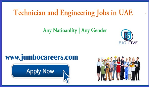 UAE job vacancies for Indians, Recent Dubai & Abu Dhabi Jobs with salary,