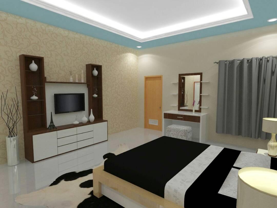 jasa desain interior kamar tidur makassar