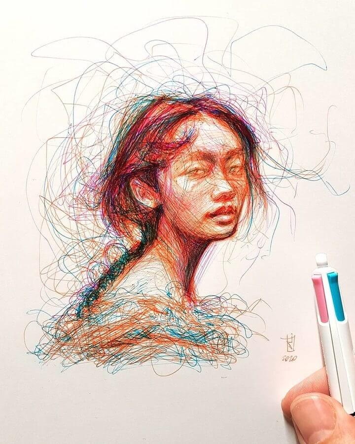10-Alberto-Russo-Scribble-Drawings-www-designstack-co