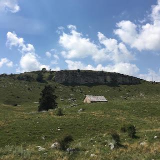 Mototurismo in Lessinia: località Malga San Giorgio