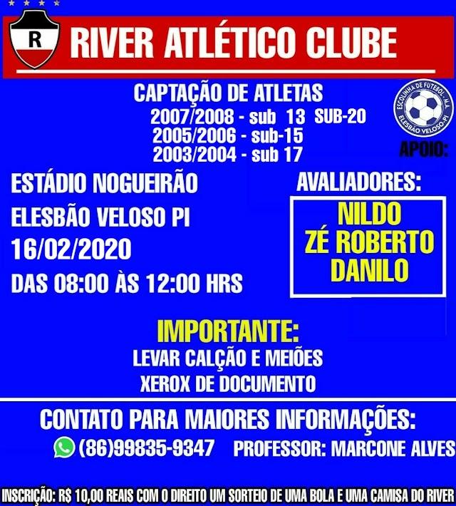 GIRA BOLA: Resumo das notícias esportivas em Elesbão Veloso e as últimas do plantão permanente para esta quarta-feira, 5 de fevereiro 2020