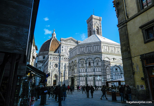 Catedral de Florença, Batistério e Campanário de Giotto