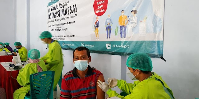 DPD LDII Bojonegoro Gelar Vaksinasi Massal Guna Dukung Pencapaian Herd Immunity