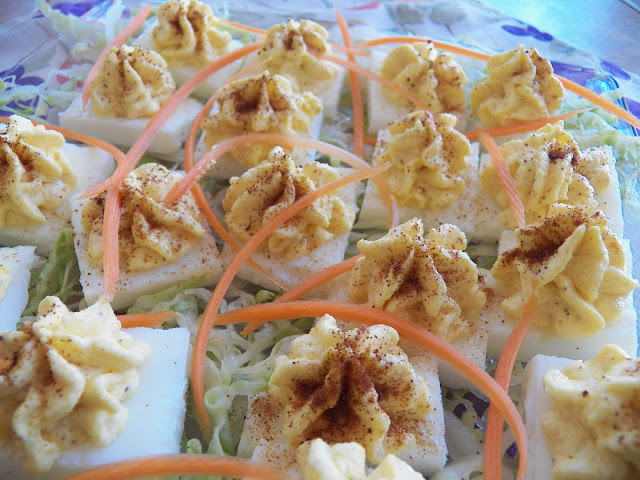 Crazy Squared Deviled Eggs