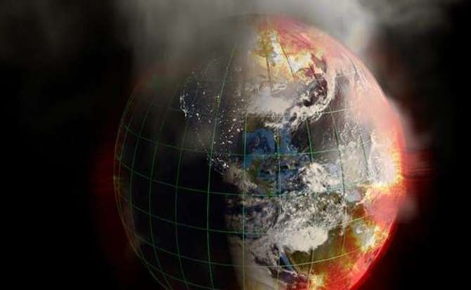 Medio ambiente, humanidad, fin,