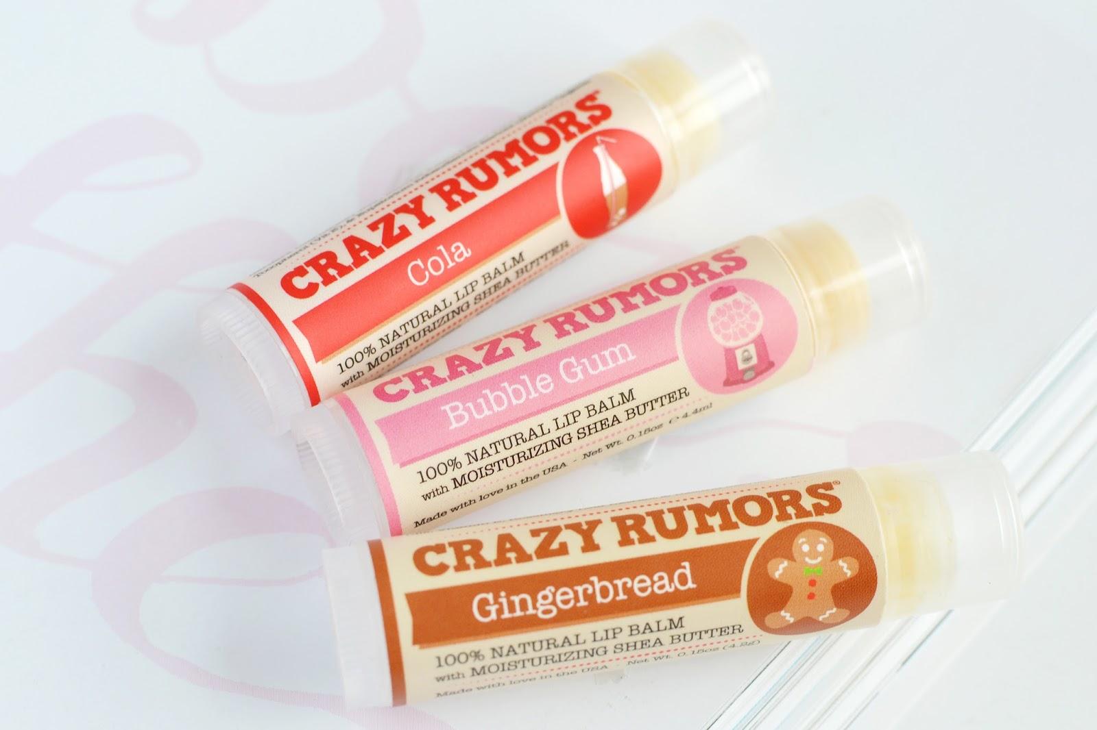 Crazy Rumors lip balm review, crazy rumours lip balm UK