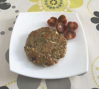 Hamburguesa vegetariana de lentejas