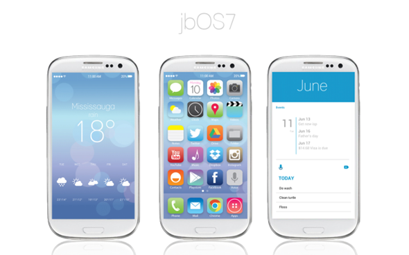 Give Your Android Phone iOS 7 Beta Look