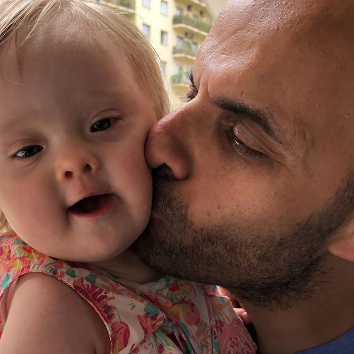 Single Dad Adopted A Baby Girl Rejected By 20 Families