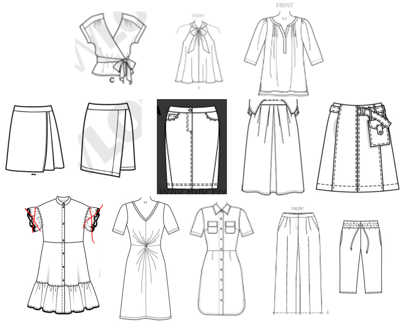 Dressmaking Debacles Summer Sewing Plans And Miscellany
