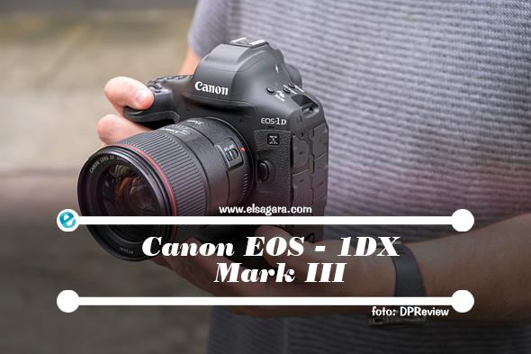 spesifikasi trend dari canon 1dx mark III