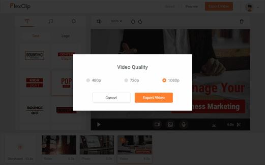 افضل موقع تعديل الفيديو اون لاين مجانا - flexclip