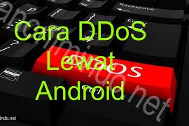 Cara DDoS Lewat Android