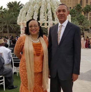Evelyn and Ben Murray-Bruce