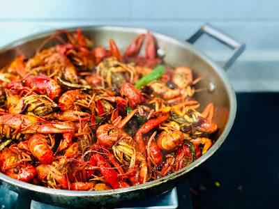 Seafood khas padang yang terkenal