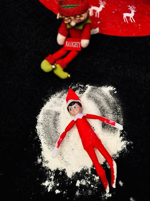Elf on The Shelf Inspiration - Snow Angels