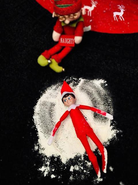 Elf on The Shelf Inspiration - Snow Angels