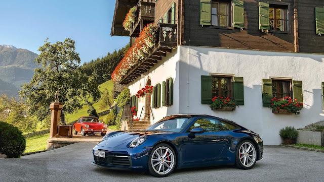 novo Porsche 911