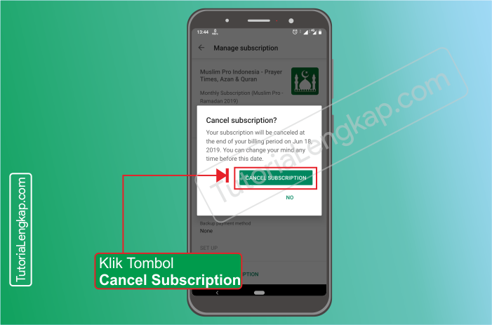 Tutorialengkap.com  5 cara berhenti berlangganan layanan aplikasi berbayar dari google pay store