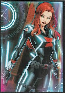 Black Widow sticker is Avengers Assemble #9 from 2018