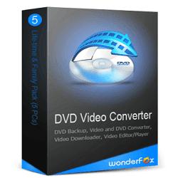 تحميل WonderFox DVD Video Converter مع سيريال التفعيل