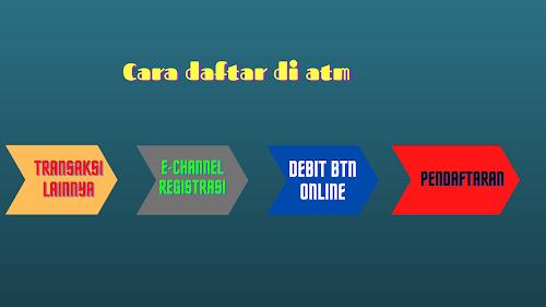 Cara belanja Online Pakai Debit BTN