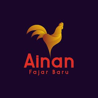 Desain Logo Ayam ainan fajar baru