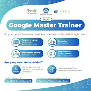 training google master traning