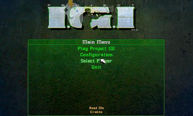 تحميل لعبة IGI للكمبيوتر برابط مباشر من ميديا فاير
