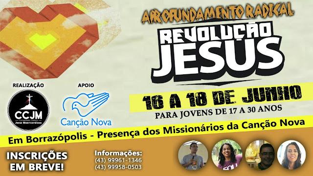 EM BORRAZÓPOLIS REVOLUÇÃO JESUS