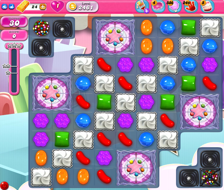 Candy Crush Saga level 2461