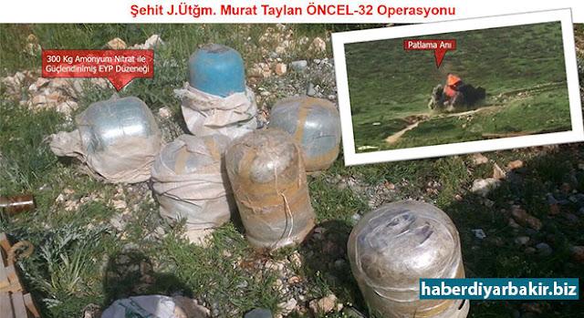 DİYARBAKIR-Diyarbakır'ın Silvan ve Hani ilçelerinde yapılan operasyonlarda 500 kilo ağırlığında el yapımı patlayıcının imha edildiği bildirildi.