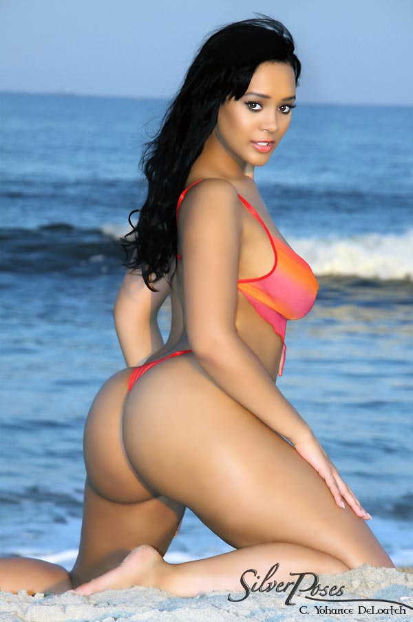 beach Elisha jade naked