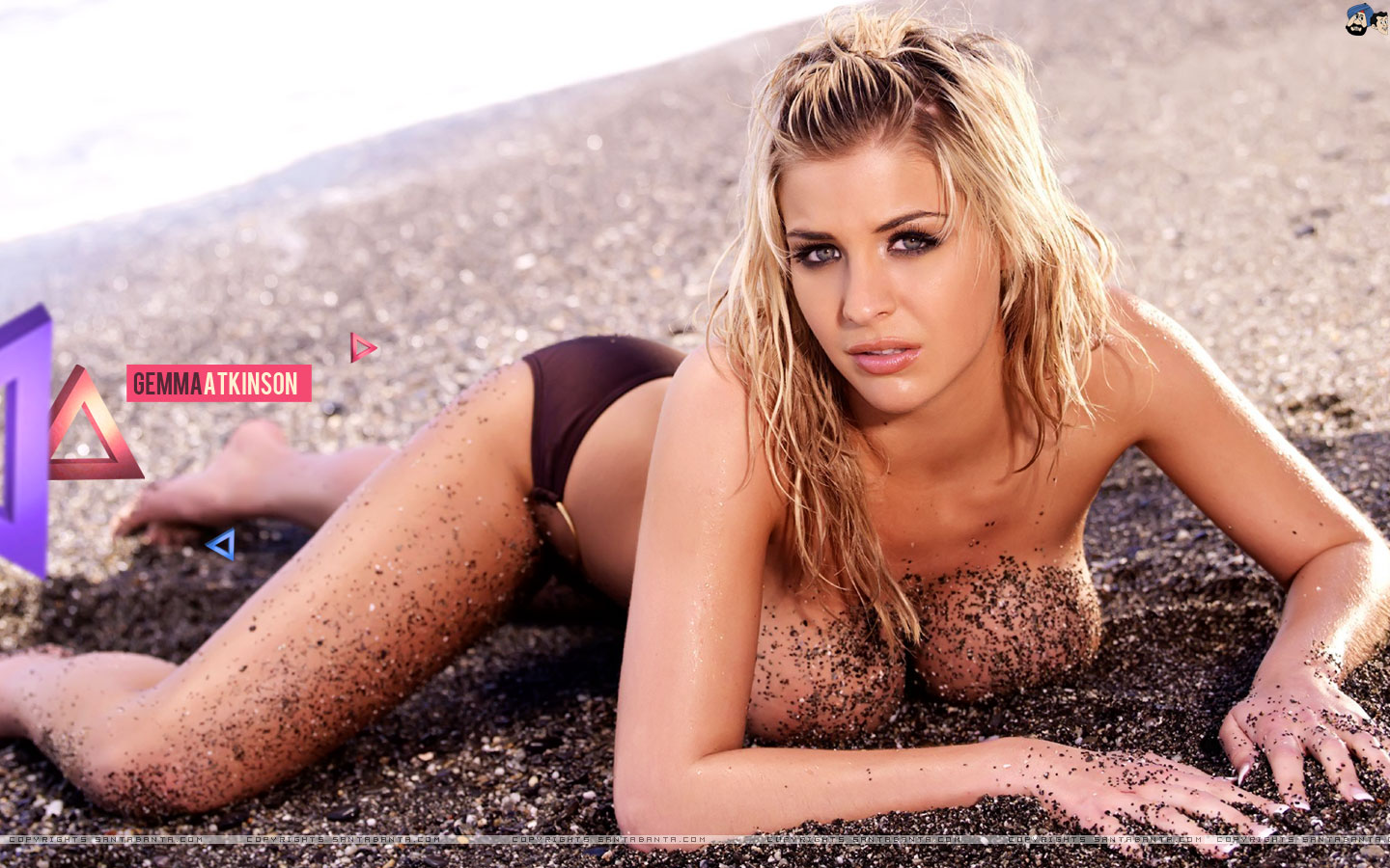 Santa Banta Car Wallpaper Hd Wallpaper Gemma Atkinson